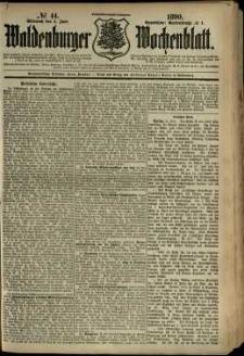 Waldenburger Wochenblatt, Jg. 36, 1890, nr 44