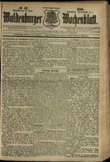 Waldenburger Wochenblatt, Jg. 36, 1890, nr 48