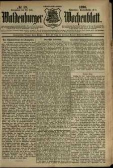 Waldenburger Wochenblatt, Jg. 36, 1890, nr 59
