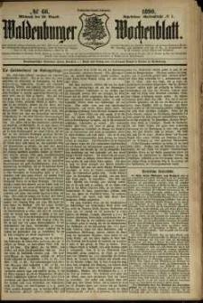 Waldenburger Wochenblatt, Jg. 36, 1890, nr 66