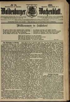 Waldenburger Wochenblatt, Jg. 36, 1890, nr 73