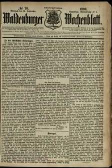 Waldenburger Wochenblatt, Jg. 36, 1890, nr 76