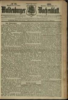 Waldenburger Wochenblatt, Jg. 36, 1890, nr 82