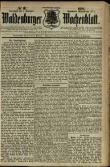 Waldenburger Wochenblatt, Jg. 36, 1890, nr 87