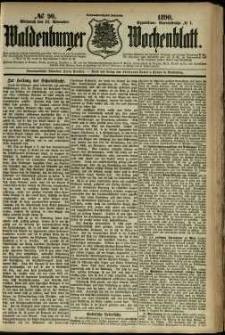 Waldenburger Wochenblatt, Jg. 36, 1890, nr 90