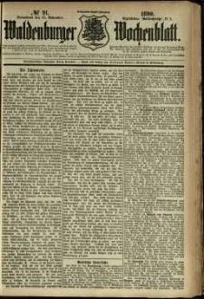 Waldenburger Wochenblatt, Jg. 36, 1890, nr 91