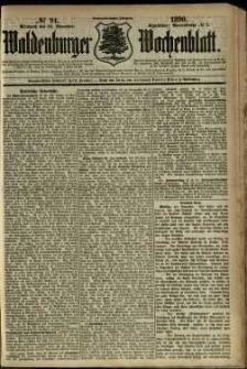 Waldenburger Wochenblatt, Jg. 36, 1890, nr 94