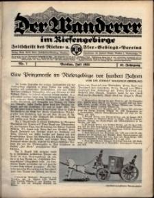 Der Wanderer im Riesengebirge, 1932, nr 7