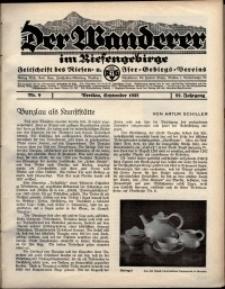 Der Wanderer im Riesengebirge, 1932, nr 9