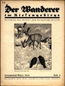 Der Wanderer im Riesengebirge, 1934, nr 3