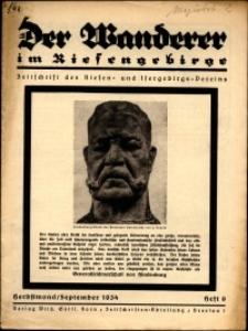 Der Wanderer im Riesengebirge, 1934, nr 9