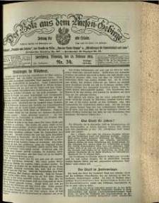 Der Bote aus dem Riesen-Gebirge : Zeitung für alle Stände, R. 102, 1914, nr 34