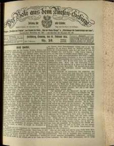 Der Bote aus dem Riesen-Gebirge : Zeitung für alle Stände, R. 102, 1914, nr 39