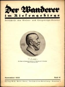 Der Wanderer im Riesengebirge, 1935, nr 11