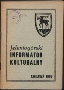 Jeleniogórski Informator Kulturalny, kwiecień 1968