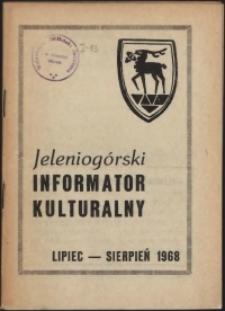 Jeleniogórski Informator Kulturalny, lipiec-sierpień 1968
