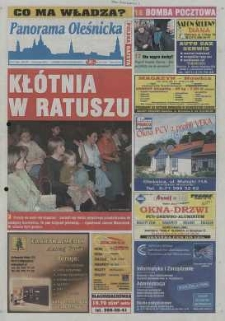 Panorama Oleśnicka: tygodnik Ziemi Oleśnickiej, 2003, nr 41 (809)