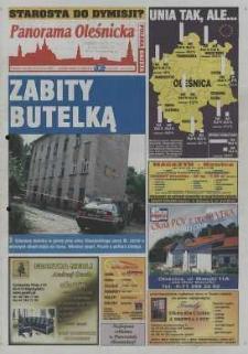 Panorama Oleśnicka: tygodnik Ziemi Oleśnickiej, 2003, nr 46 (814)