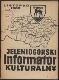 Jeleniogórski Informator Kulturalny, listopad 1969