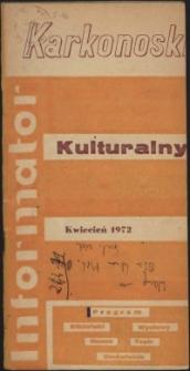 Karkonoski Informator Kulturalny, kwiecień 1972