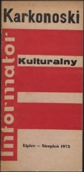 Karkonoski Informator Kulturalny, lipiec-sierpień 1972