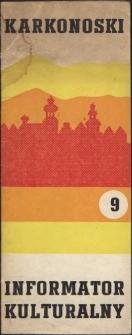 Karkonoski Informator Kulturalny, 1972, nr 9