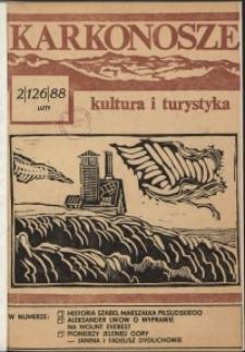 Karkonosze: Kultura i Turystyka, 1988, nr 2 (126)