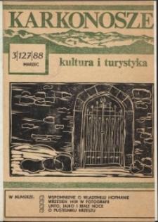 Karkonosze: Kultura i Turystyka, 1988, nr 3 (127)