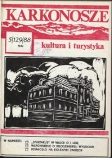 Karkonosze: Kultura i Turystyka, 1988, nr 5 (129)
