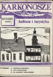 Karkonosze: Kultura i Turystyka, 1988, nr 6 (130)