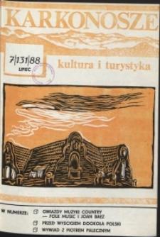 Karkonosze: Kultura i Turystyka, 1988, nr 7 (131)