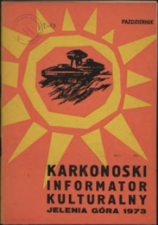 Karkonoski Informator Kulturalny, 1973, nr 10 (80)