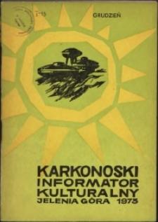 Karkonoski Informator Kulturalny, 1973, nr 12 (82)