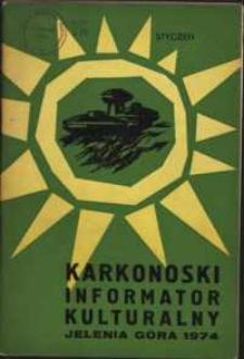 Karkonoski Informator Kulturalny, 1974, nr 1 (83)