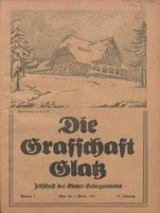 Die Grafschaft Glatz : Illustrierte Zeitschrift des Glatzer Gebirgsvereins, Jr. 30, 1935, nr 1