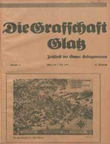 Die Grafschaft Glatz : Illustrierte Zeitschrift des Glatzer Gebirgsvereins, Jr. 30, 1935, nr 4