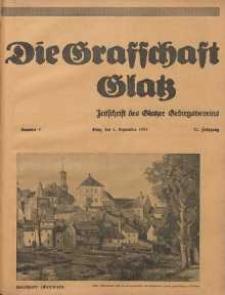 Die Grafschaft Glatz : Illustrierte Zeitschrift des Glatzer Gebirgsvereins, Jr. 30, 1935, nr 5