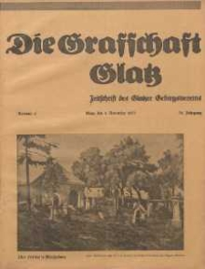 Die Grafschaft Glatz : Illustrierte Zeitschrift des Glatzer Gebirgsvereins, Jr. 30, 1935, nr 6