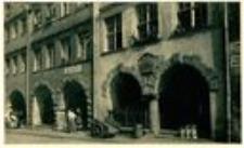Jelenia Góra - Plac Ratuszowy - podcienia kamienic nr 21, 22 - XVII w. [Dokument ikonograficzny]