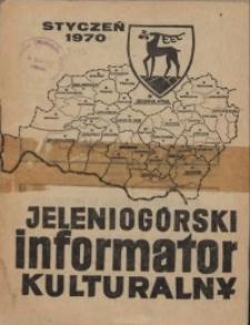 Jeleniogórski Informator Kulturalny, styczeń 1970