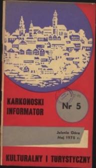 Karkonoski Informator Kulturalny i Turystyczny, 1975, nr 5 (99)