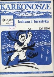 Karkonosze: Kultura i Turystyka, 1989, nr 2 (138)