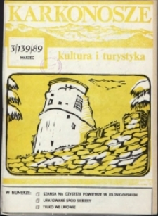 Karkonosze: Kultura i Turystyka, 1989, nr 3 (139)