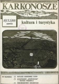 Karkonosze: Kultura i Turystyka, 1988, nr 8 (132)