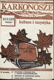 Karkonosze: Kultura i Turystyka, 1988, nr 9 (133)