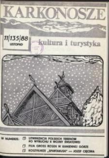 Karkonosze: Kultura i Turystyka, 1988, nr 11 (135)