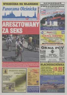 Panorama Oleśnicka: tygodnik Ziemi Oleśnickiej, 2004, nr 51 (921)