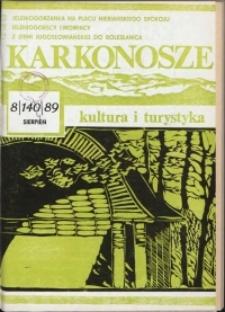Karkonosze: Kultura i Turystyka, 1989, nr 8 (144)