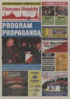 Panorama Oleśnicka: tygodnik Ziemi Oleśnickiej, 2004, nr 84 (954)