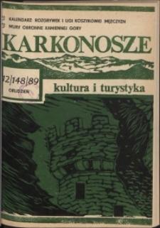 Karkonosze: Kultura i Turystyka, 1989, nr 12 (148)
